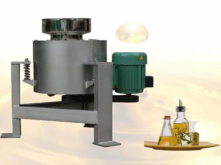 Centrifugal oil filter