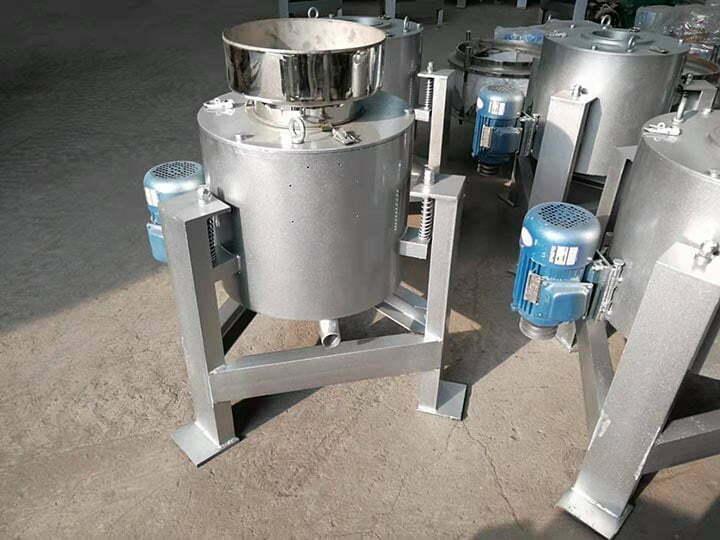 Centrifugal oil filter kit
