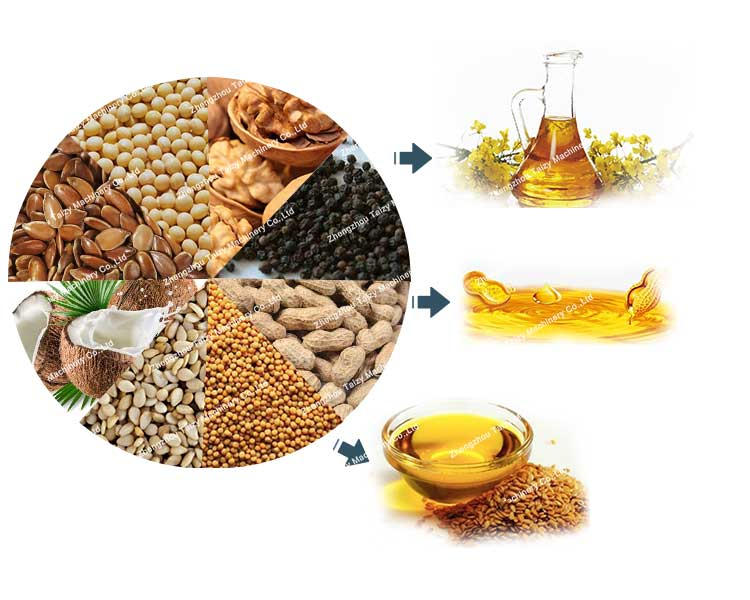 commercial oil press machine application