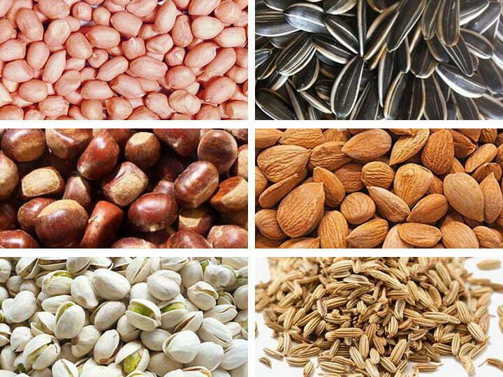 commercial peanut roaster application
