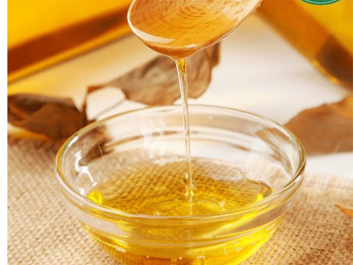 filtered oil