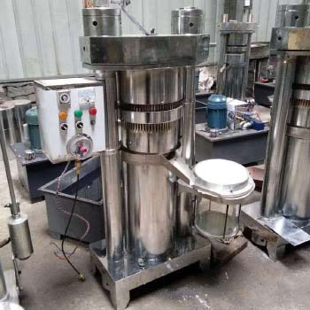 hydraulic oil extraction machine with filter