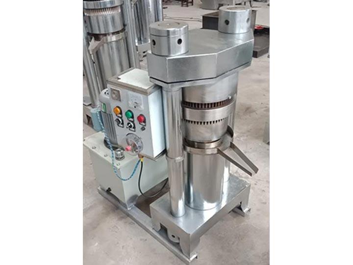 hydraulic olive oil cold press machine