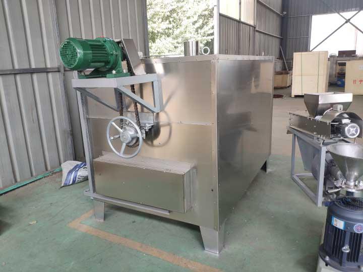 groundnut roasting and peeling machine in Nigeria