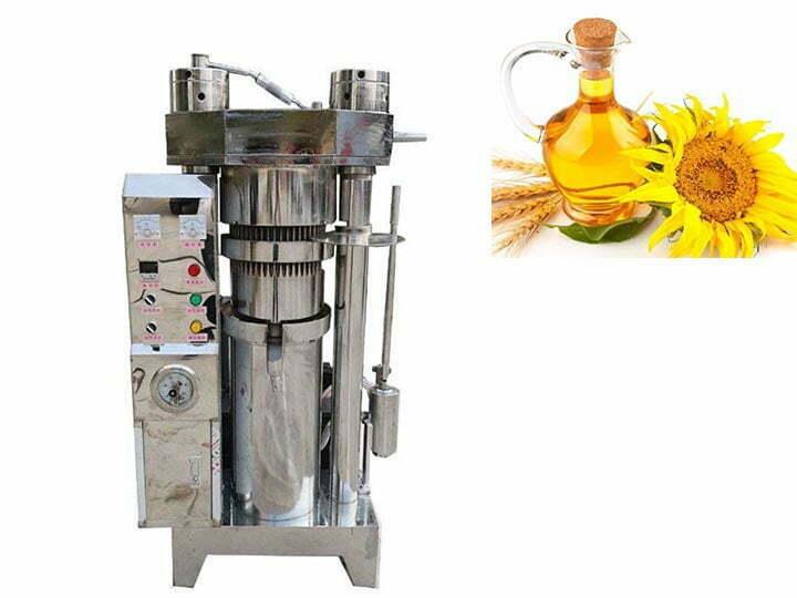 sunflower oil cold press